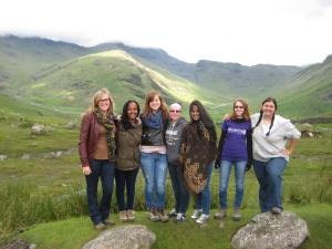 All of the girls in the Lake District.