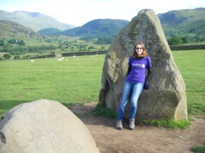 Stephanie at Castlerigg