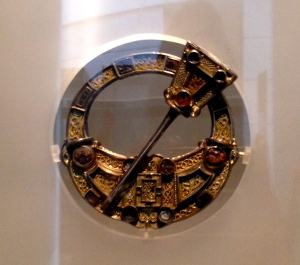 An exquisite Angle-Saxon Brooch in the museum, that was probably worn by a wealthy nobleman. I'd certainly wear it.