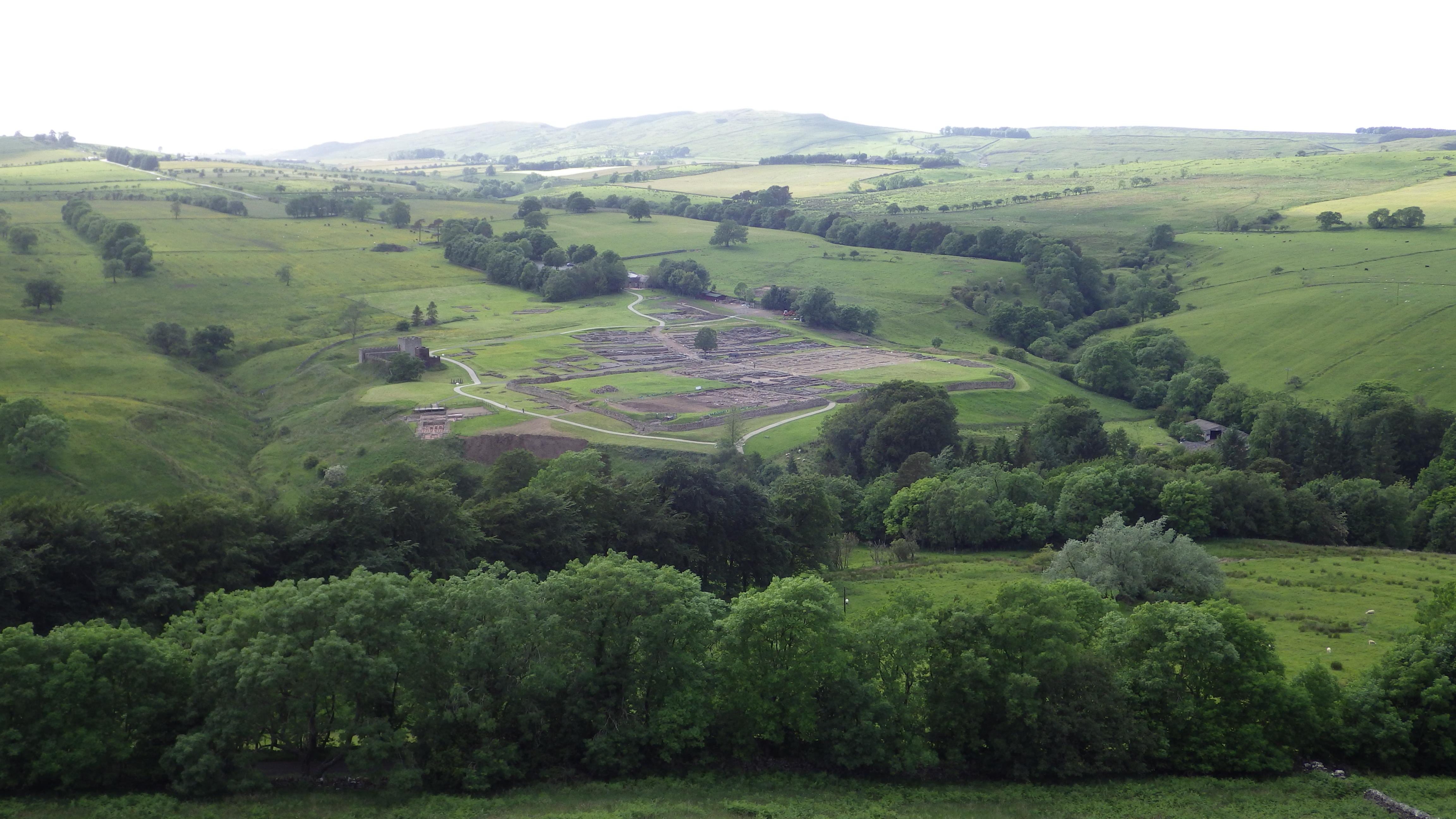 Hike up Barcombe Hill – Western @ Vindolanda