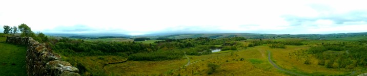 View from the top of one of the nine nicks