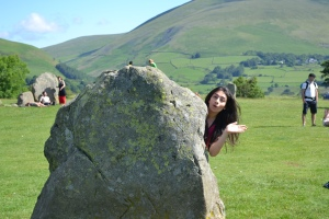 Yoohoo! New blog post! Here in Castlerigg stone circle