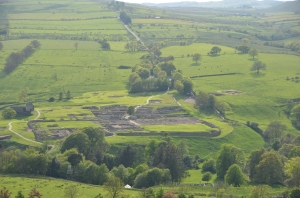 View of Vindolanda