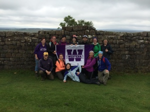 The Vindolanda Field School 2014 crew