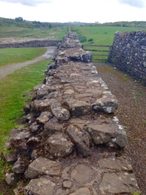 The starting point of our hike along Hadrian's wall