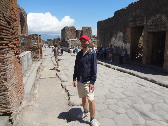 Myself in Pompeii, 2014
