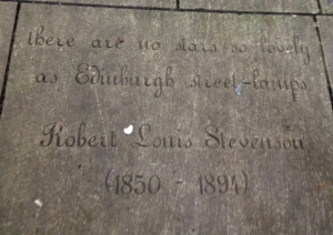 Some beautiful words about the city of Edinburgh by one of its own poets