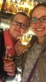 Sam and Meghan on a scotch-whiskey tour. We may not have the taste buds for whiskey but I am sure we can work on that.